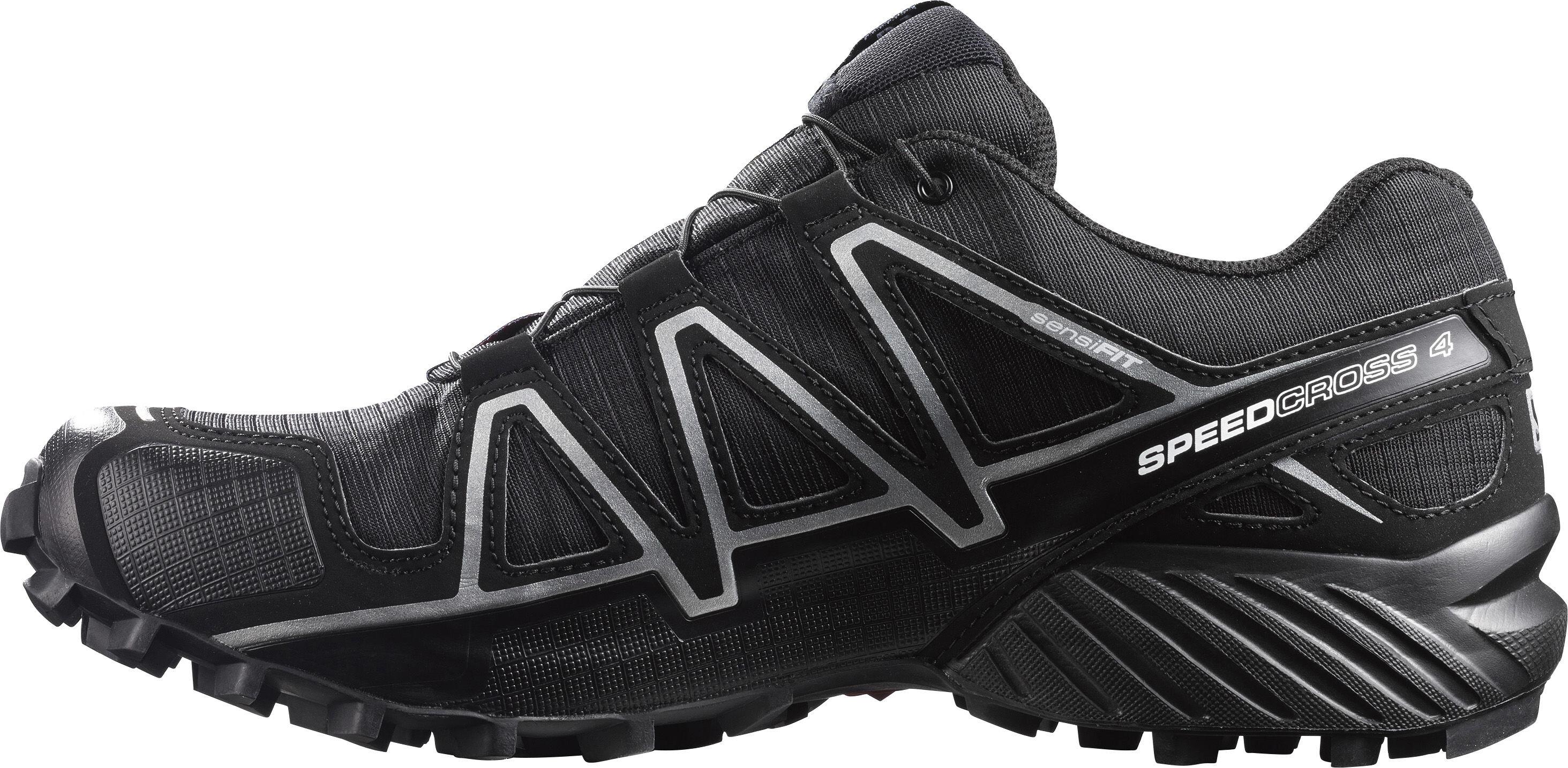 économiser a3779 b7d29 Salomon Speedcross 4 GTX Shoes Men black/black/silver metallic-x